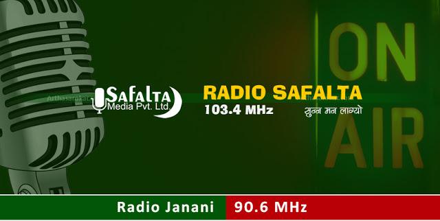 Radio Safalta 103.4 MHz